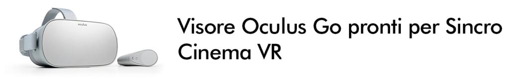 noleggio oculus go